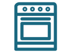 Oven Bake Icon